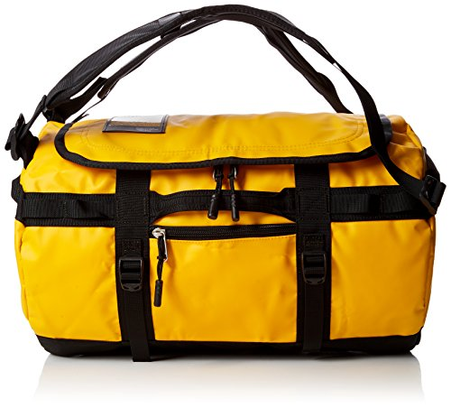 The North Face Base Camp Duffel, Sacs de sport grand format Mixte, Multicolore (Summit Gold/Tnf Black), 95 L, L