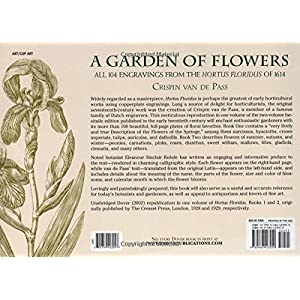 A Garden of Flowers: All 104 Engravings from the Hortus Floridus of 1614