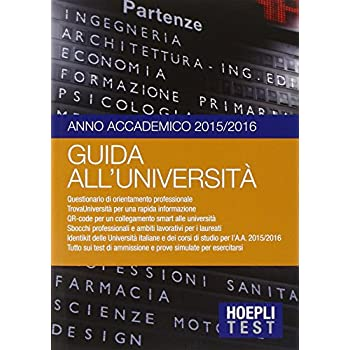 Guida All'università. Anno Accademico 2015/2016