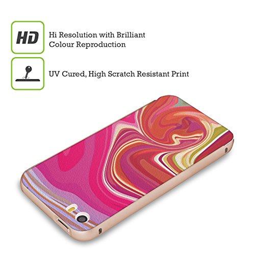 Ufficiale Shelly Bremmer Dopa Astratto E Vivido Oro Cover Contorno con Bumper in Alluminio per Apple iPhone 5 / 5s / SE Seriamente