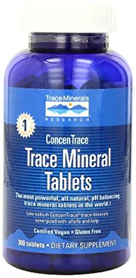 Trace Minerals Research ConcenTrace Trace Mineral 300 Tablets from Trace Minerals Research