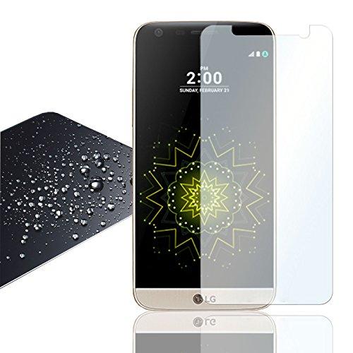 Eximmobile - Panzerglasfolie für LG Q7+ Plus | Panzerglas (klar) für besten Bildschirmschutz | Selbstklebende Panzerfolie | 9h Glasfolie rückstandslos entfernbar | Schutzfolie Folie