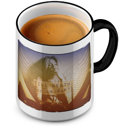 FunTasstic Tasse Till death do us apart Tasse Kaffeepott by StyloTex