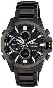 Casio Edifice Analog-Digital Black Dial Men's Watch - ECB-500DC-1ADR (EX249)