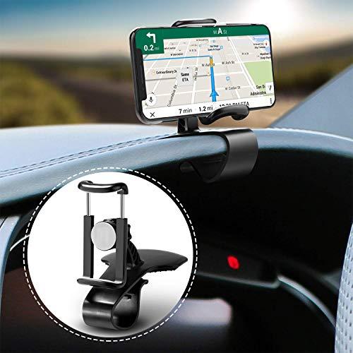 CRRISE 360 Grad drehbare Handy-Halterung für Armaturenbrett, rutschfest, strapazierfähig, kompatibel mit iPhone XS Max/XR/XS/X/8 Plus/8/7 Plus/7, Samsung Galaxy S10/S9/S8 und mehr (Chevy S10 2002)