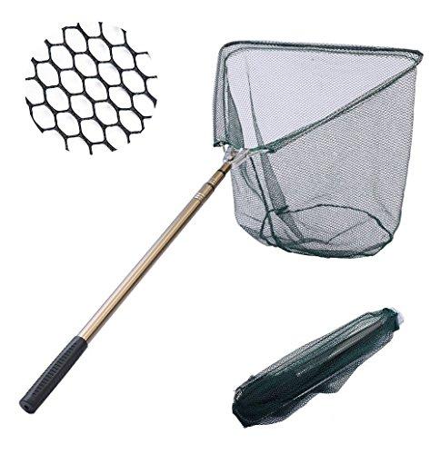 Romote Pêche épuisette Fish Net, Pliable Pliable...