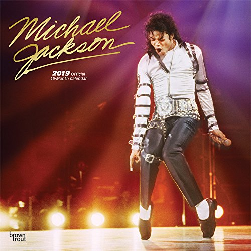 Michael Jackson 2019 - 18-Monatskalender: Original BrownTrout-Kalender por Inc. Browntrout Publishers