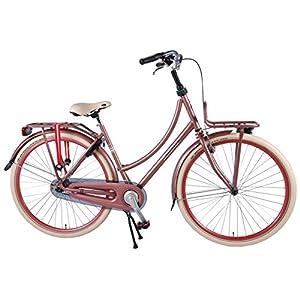 51%2Bx6y1hZBL. SS300  - Salutoni Excellent 28 Inch 50 cm Woman Coaster Brake Pink