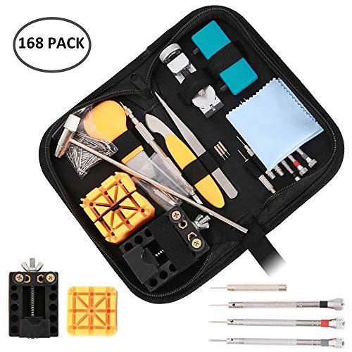 ZhongYe Feinmechaniker Schraubendreher Set 168 tlg. Reparatur-Set für Smartphones, Tablets, PCs, Konsolen, Kameras, Uhren, Brillen, Modellbau & Co./ Repair-Tool-Kit/Präzisions Schraubendrehesatz