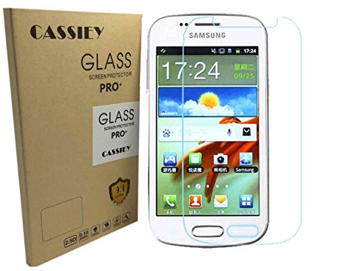 CASSIEY® 2.5D Curved Edge 9H Hardness Premium Tempered Glass For Samsung Galaxy Grand 2 / GRAND2 / SM-G7106 / G7102 / G7106 - Front
