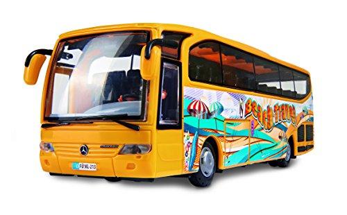 Preisvergleich Produktbild Dickie Toys 203825000 - Mercedes-Benz Travego Bus, Reisebus, 27 cm