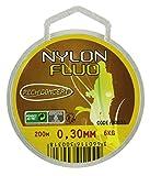 PECH'CONCEPT NYLON - JAUNE FLUO - 30/100 - 200M
