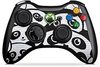 DeinDesign Microsoft Xbox 360 Controller Folie Skin Sticker aus Vinyl-Folie Aufkleber Panda Graffiti BAER