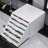 SUNLMG Mehrschicht-Schmuck-Aufbewahrungsbox Huge Schmuck Box