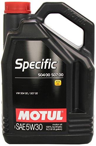 5 Liter Motul Specific SAE 5W30 504 00 507 00, ACEA C3