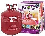 Heliumflasche mit Helium / Ballongas / XXL 420 Liter Einweg-Heliumbehälter für 50 Luftballons ==> für leichtes befüllen von Ballons