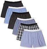 CityLife City Life Elastic Boxershorts, Mehrfarbig Band Ww-6-1, Large (Herstellergröße: L), 6er-Pack