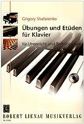 Übungen und Etüden: für Unterricht und Selbststudium. Klavier. Ausgabe mit CD.