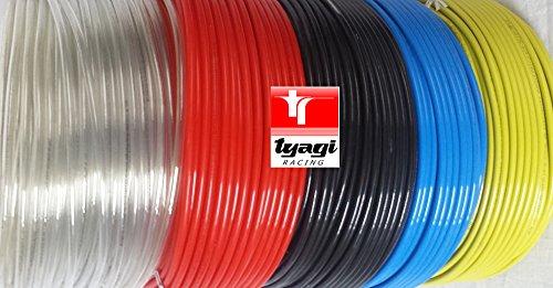 Preisvergleich Produktbild Tyagi Racing® 16mm x 12mm Pneumatische Air Kompressor Schläuche PU Schlauch Tube Rohr, 20Meter