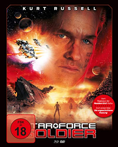 Star Force Soldier (Mediabook, Blu-ray + DVD) (Cover A)