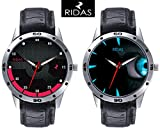 RIDAS casso Combo of 2 Leather Analog Me...