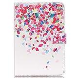 10.1'' pulgadas Tablet Carcasa,Protección Funda de Cuero Flip Case Smart Cover para Tablet 10''...