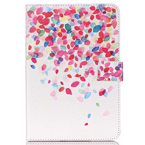 10.1'' pulgadas Tablet Carcasa,Protección Funda de Cuero Flip Case Smart Cover...