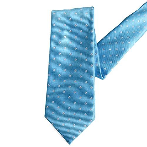 YAOSHI-Bow tie/tie Krawatten und Fliegen für Herren Krawatte Silk Blue Formelle Krawatte Verlängerung Polyester Herren Business Krawatte Krawatten und Fliegen für Fashion Silk Bow Tie