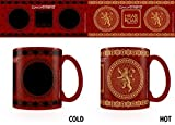 Game Of Thrones - Lannister - Thermoeffekt Tasse - Größe Ø8,5 H9,5cm