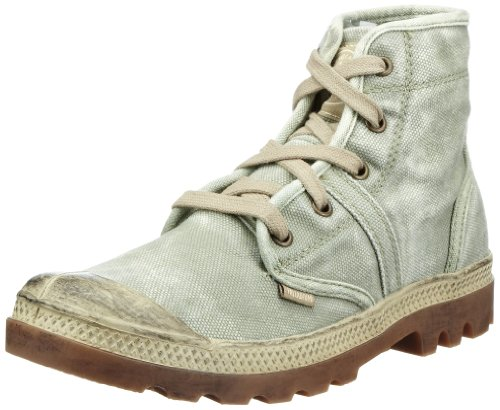 Palladium PALLABROUSE~BLACK/VAPOR~M 92477-011-M, Stivali, Donna Verde (Dark Khaki/Putty)