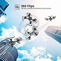 Holy Stone HS170G Predator Night Elven Mini RC Quadcopter Drone with Upgraded Altitude Hold Function, 3D Flips, One Key Engine Start Emergency Stop, Suitable for Kids and Beginners Using to Drone Racing and Speed Contest