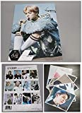 BTS JIMIN Solo - 12 PHOTO POSTERS(16.5 x 11.7 inches) + 1 STICKER + 5 Photos(4 x 3 inches)