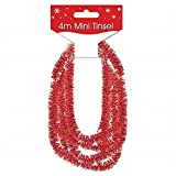 Mini Tinsel Red 4M