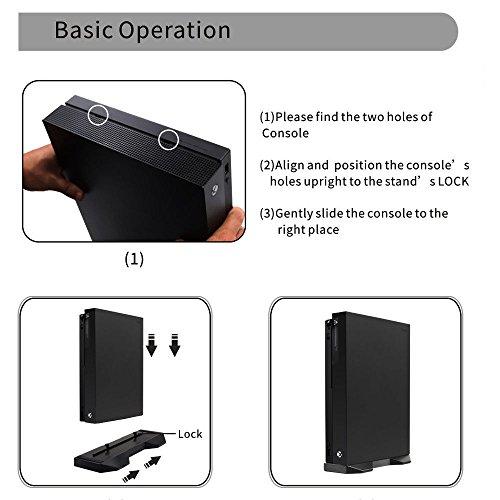 Gute Qualität Vertikaler Ständer Dockingstation Halterung Sockel für Xbox One X Game Konsole