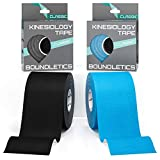 Boundletics Kinesiologie Tape Classic - 2er Pack - Physiotape 5cm + Anleitung