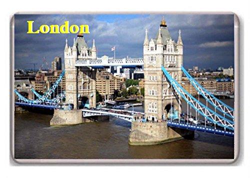 Londres/puente de la torre/frigorífico/Imán