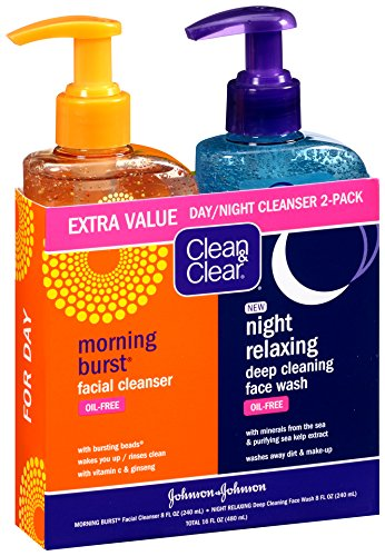 Clean & Clear Morning Burst, Dia/Noche paquete, 16 Ounce en total