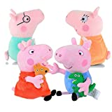 #10: Party Propz Peppa Pig Plush Toy Set of 4