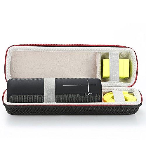 Harte Reise Lagerung Tragetasche für Ultimate Ears UE BOOM 2 / UE BOOM 1 Tragbarer Bluetooth Lautsprecher. Passend für Ladegerät und USB-Kabel (Ue Boom Tragetasche)