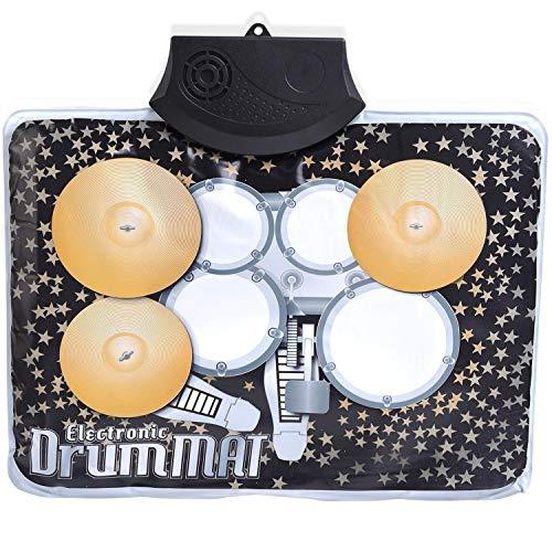 Hwamart Neuheit Musik-Spiel-Matte Kinder Kinder Musical Mini Drum Set Großes Geschenk für Kinder