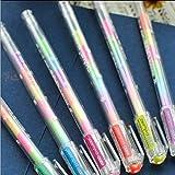 CXZX 6pcs surligneur de couleur pour les étudiants en art, Drop Shipping Pen stylo dessin stylo pour la journalisation, la rédaction de notes, agenda de prise de calendrier, cadeaux d'école de retour
