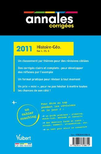 Histoire-Géographie Bac L, ES, S