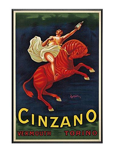 cartel-enmarcado-vintage-vermouth-cinzano-tamano-50x75cm-montado-en-tablero-rigido-y-ligero-profesio