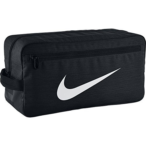 Nike Zapatillero Nk Brsla Bolsa de Deporte, Hombre, Negro/Blanco, Talla única