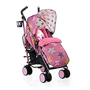 Cosatto Supa 2018 Baby Stroller, Suitable from Birth to 25 kg, Happy Stars   10