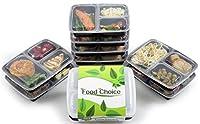 Food Choice è lieta di vendere il nostro ultimo contenitore alimentare a tre scomparti con queste caratteristiche chiave; - Sicuro per il microonde - Per la lavastoviglie e per il congelatore - Riutilizzabile - Impilabili - Senza BPA - Materi...