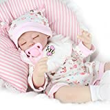 "Kaydora Reborn Baby Dolls Realistic 16"" Silicone Vinyl Handmade Lifelike Newborn Baby Dolls"