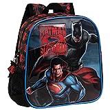 Warner 25820A1 Batman Vs Superman Zainetto per Bambini, Poliestere, Grigio, 25 cm