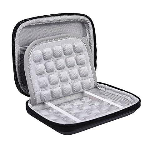 Mudder Disque Dur Sac/ Pochette/ Housse/ Case/ Coque pour Seagate Expansion et Backup, WD Elements et My Passport Ultra 2.5 Pouce Disque Dur Externe Portable