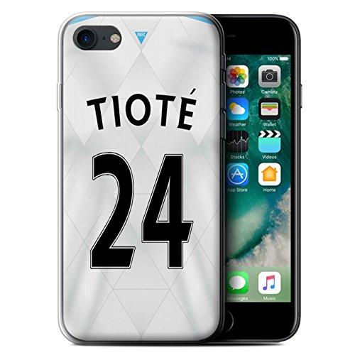 Officiel Newcastle United FC Coque / Etui Gel TPU pour Apple iPhone 7 / Mitrovic Design / NUFC Maillot Extérieur 15/16 Collection Tioté